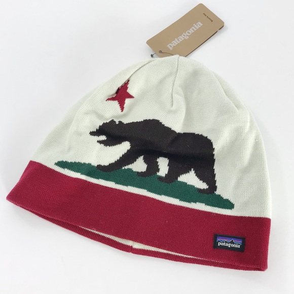 eca1d8ce1f1 Patagonia California Bear Beanie